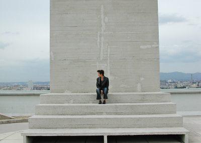 Cité Radieuse Marseille le théâtre - Le Corbusier